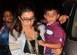 EXCLUSIVE: Ajay Devgn, Kajol and daughter Nysa celebrated Yug's birthday in a private party!