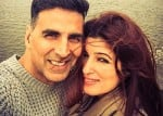 Exclusive: Akshay Kumar and Twinkle Khanna spotted at airport before leaving for vacations!