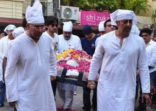 Exclusive: Inside pics of Vindu Dara Singh's mother Surjit Kaur's funeral