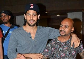 Exclusive: Sidharth Malhotra clicked after a haircut from hair stylist Aalim