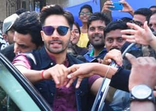 EXCLUSIVE: Varun Dhawan spotted in his Badrinath Ki Dulhaniya look, gets mobbed by fans, see pics