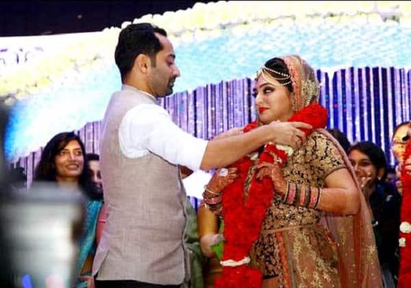 Fahadh Fazil weds Nazriya Nazim - View Pics!