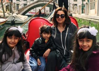 Farah Khan is chilling with her kids in Rome
