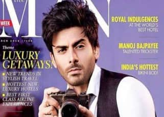 Fawad Khan's look on the cover of 'The Man' magazine