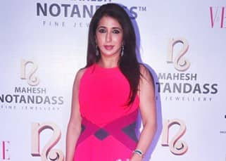 Krishika Lulla during launch of new festive collection of Mahesh Notandass jewellery