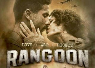 First poster of 'Rangoon' out