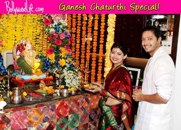 Ganesh Chaturthi 2014: Shreyas Talpade and Sonu Sood celebrate Ganeshotsav - View pics!