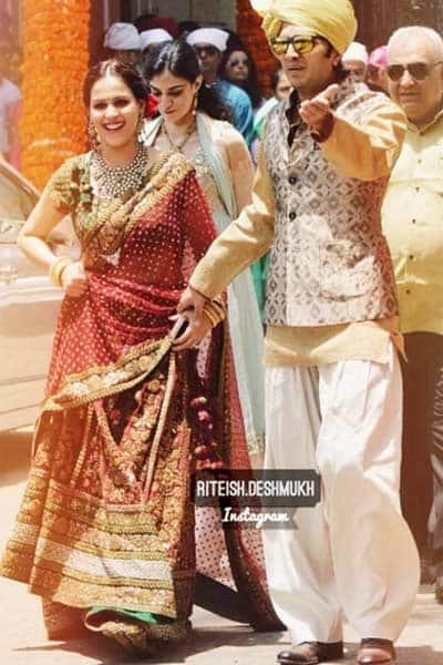 Riteish deshmukh brother wedding anniversary