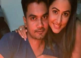 Hina Khan embracing boyfriend Rocky Jaiswal