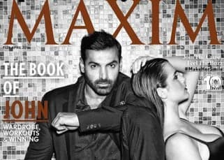 Hotness alert!! Check out John Abraham's stunning photoshoot for 'Maxim' magazine!!