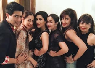 Hotness overloaded at Sophie Choudry's post birthday celebrations