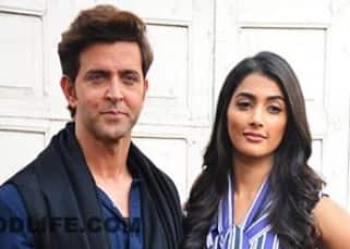 Hrithik Roshan and Pooja Hegde start off with promotions of  'Mohenjo Daro', see pics!