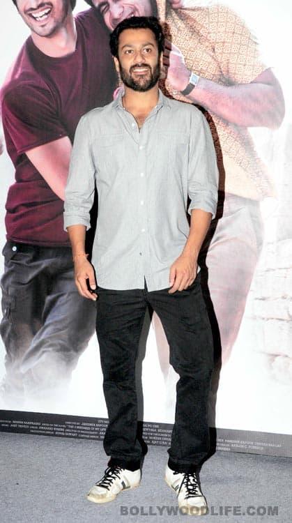 Hrithik Roshan, Arjun Rampal, Sushant Singh Rajput at the trailer release of Kai Po Che!