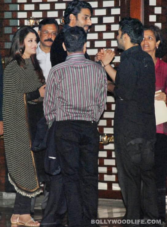 Hrithik Roshan, Salman Khan, Rani Mukerji, Priyanka Chopra at the Ambani party for Sachin Tendulkar