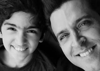 Hrithik Roshan's airplane selfie with Hreehan