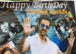 Hrithik Roshan's fan club was in Mumbai to greet him