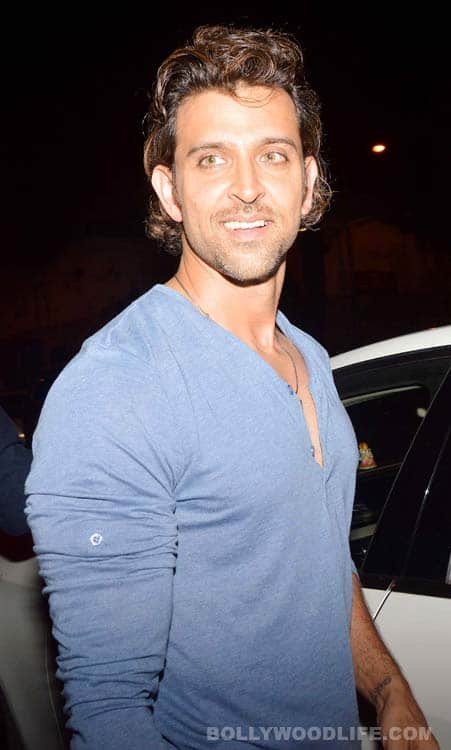 Hrithik's dinner outing with Rob Cohen