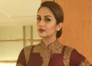 Huma Qureshi attends wedding in Delhi in Harpreet and Rimple couture
