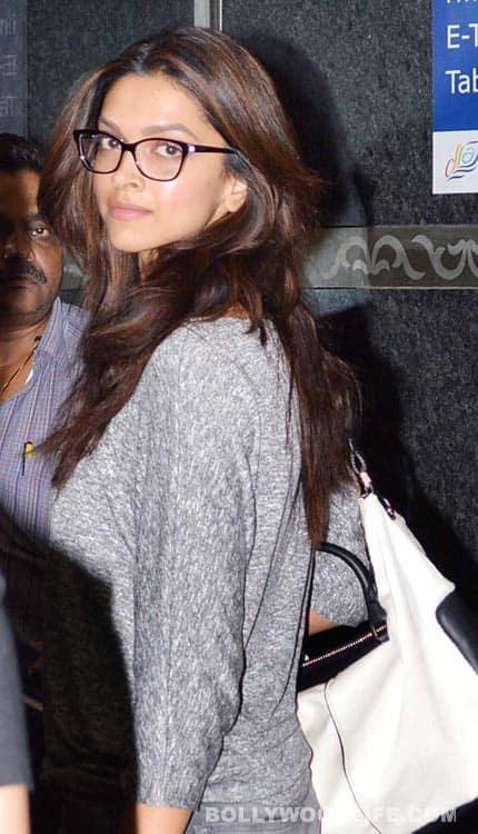 IIFA 2013: Shahrukh Khan, Katrina Kaif & Deepika Padukone spotted at Mumbai airport