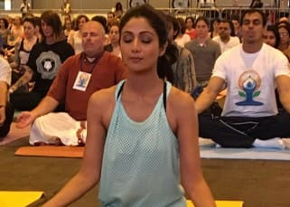 IIFA 2016: Meanwhile Shilpa Shetty manages to give Yoga classes in Madrid!