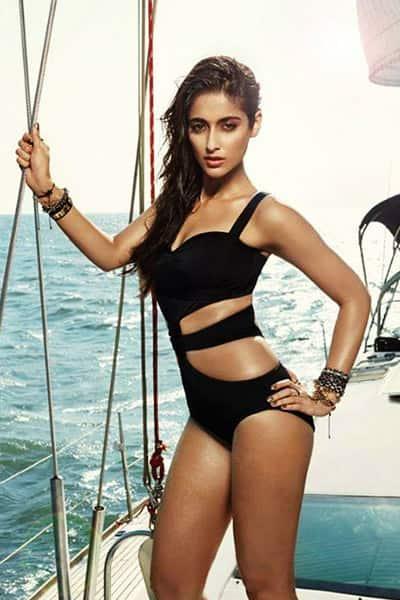 Ileana D'cruz poses in a black bikini