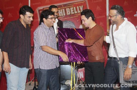 Imran Khan at 'Delhi Belly' DVD launch