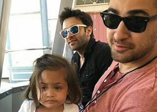 Imran khan is having the best vacation of his life with daughter Imara in Los Angeles