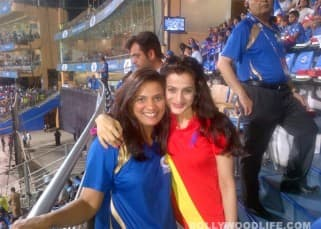 In Focus: Ameesha Patel bonds with friends at IPL 2013