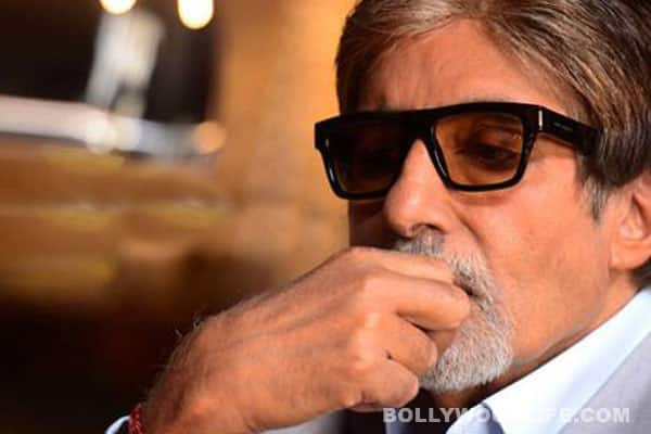In Focus: Amitabh Bachchan's new pair of shades!