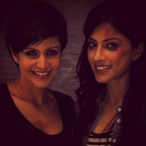 In Focus: Mandira Bedi poses with 24 girl Sapna Pabbi!