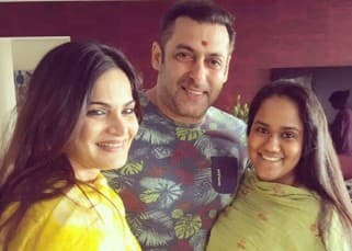 IN PICS: Salman Khan celebrates Raksha Bandhan with sisters Arpita and Alvira