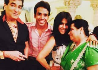 Inside pictures from Tusshar Kapoor's birthday party with family