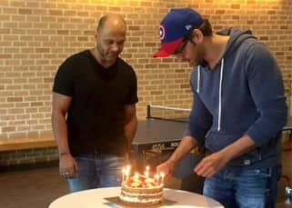 Inside pictures: Hrithik Roshan celebrates his birthday with his Kaabil team