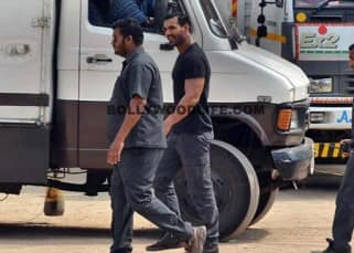 Insight pics of Sonakshi Sinha and John Abraham shooting for Force 2!