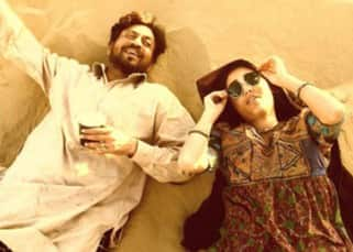 Irrfan Khan and Golshifteh Farahani in 'The Song of Scorpions'
