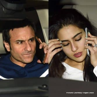Is Saif Ali Khan angry at daughter Sara Ali Khan – take a look at these pictures