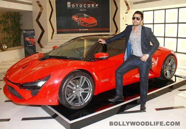 Jackky Bhagnani and Sanjay Gadhvi on the sets of 'Ajab Gajab Love'