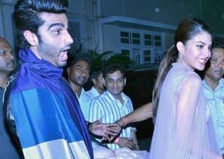 Jacqueline Fernandez clicked having fun with Arjun Kapoor