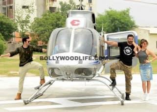 Jacqueline Fernandez, Varun Dhawan and John Abraham enthrall Delhites during 'Dishoom' promotions!