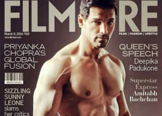 John Abraham featured on cover of March issue of Filmfare magazine