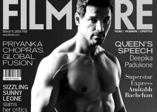 John Abraham on Filmfare magazine cover