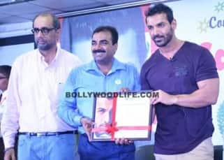 John Abraham supports initiative of rehabilitating flood victims of Tamil Nadu, see pics!