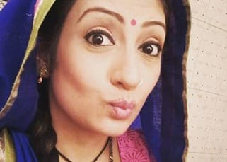 Juhi Parmar pouts for a selfie in her Telly bahu avatar