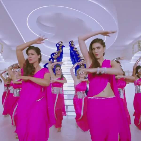 Dilwale SRK, Kajol, Kriti, Varun match outfits and steps