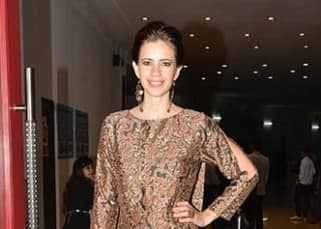 Kalki Koechlin sizzled in Shruti Sancheti jumpsuit at the screening of movie 'Waiting'!