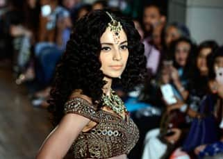 Kangana Ranaut added glamour to Manav Gangwani's show at India Couture Week 2016, see pics!