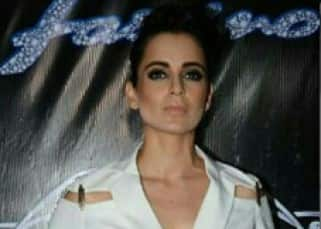 Kangana Ranaut could give you sleepless nights in Nikhil Thampi's white pant suit!