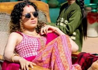 Kangana Ranaut in her 'Kaala Chashma' look