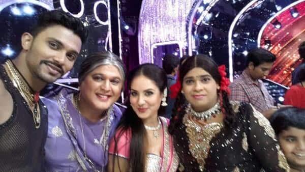 Kapil Sharma's Dadi and Bua on the sets of Jhalak Dikhhla Jaa 7: View pics!