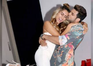 Karan Kundra and Anusha Dandekar at MTV Love School 2 Press Conference